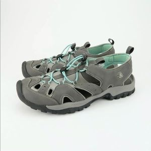 Northside Burke II Sport Sandals Grey/Aqua